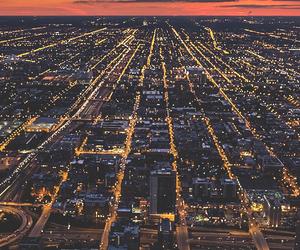 city, light, and life image