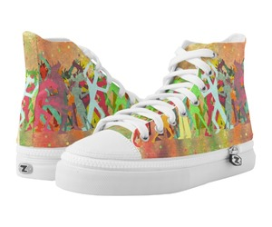fashion, unicorny, and high top shoes image
