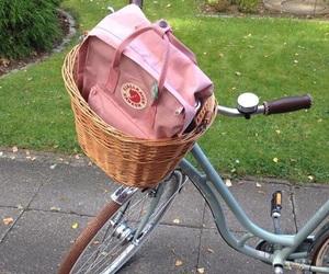 pink, aesthetic, and bike image