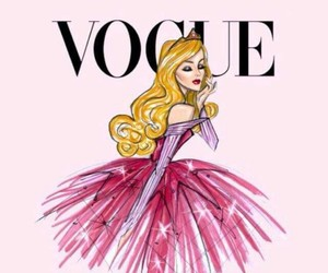 vogue, princess, and pink image