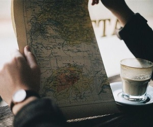 travel, map, and vintage image