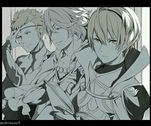 fire emblem, anime boys, and fanart image