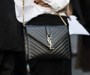 fashion, style, and YSL image