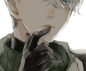anime, yuri!!! on ice, and victor nikiforov image