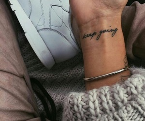 tattoo and keep going image