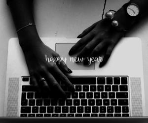 apple, happy, and macbook image