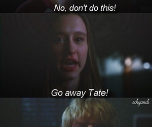 evan peters, american horror story, and tate and violet image