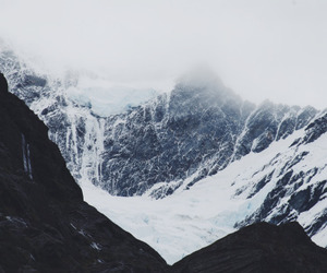 mountains, adventure, and cold image
