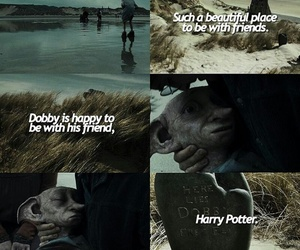 harry potter, dobby, and the deathly hallows image