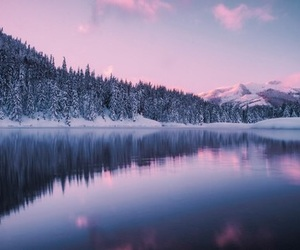 snow, mountains, and photography image