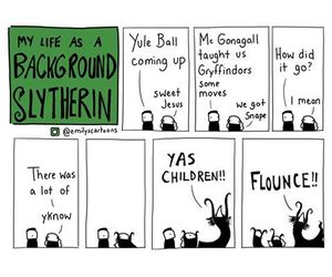 funny and slytherin image