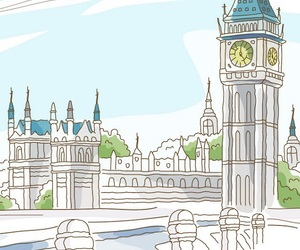 drawing and london image