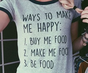 food, style, and happy image