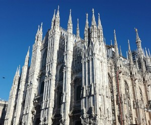 duomo, italy, and milan image