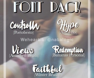 All fonts can be found at dafont com on We Heart It