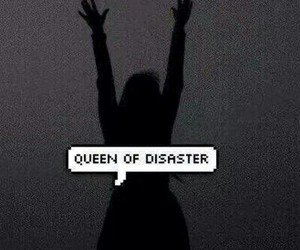 Queen, disaster, and grunge image
