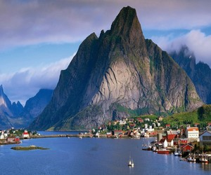norway, mountains, and travel image