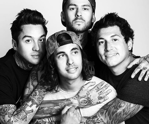 pierce the veil, bands, and mike fuentes image