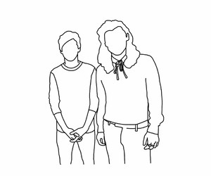outline, gay couples, and louis tomlinson image