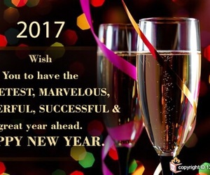 happy new year, 2017, and happy new year 2017 image