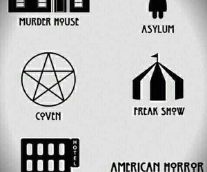 coven, asylum, and ahs image