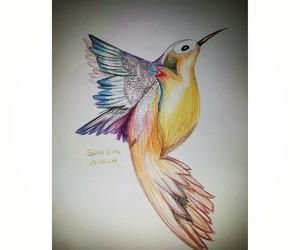 art bird love image