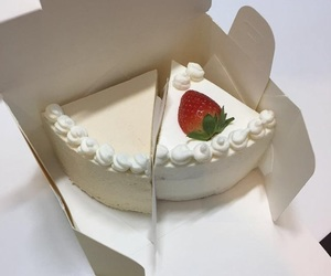 cake, food, and white image
