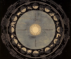 zodiac, signs, and sun image