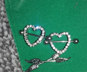 nipple piercing, minez, and junie image