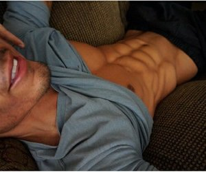abs, hombres, and chicos image