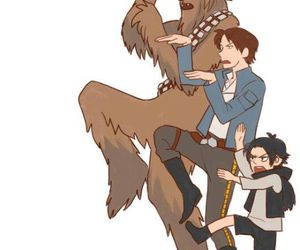 han solo, star wars, and ben solo image