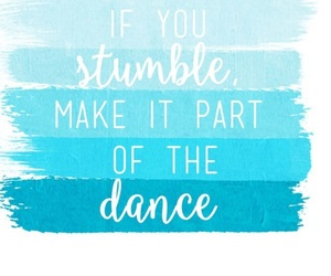 quotes, blue, and dance image