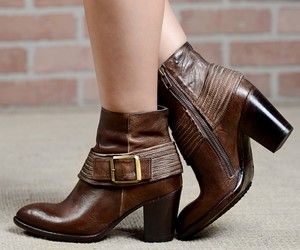 ankle boots, leather ankle boots, and winter boots image