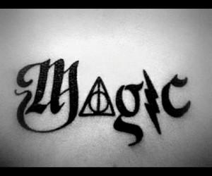 magic, harry potter, and tattoo image
