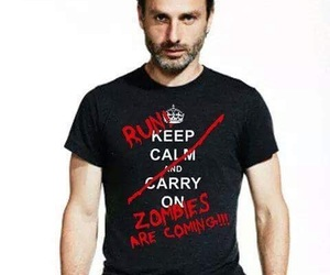shirt, zombies, and walkers image