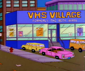 the simpsons, vhs village, and saturdays of thunder image