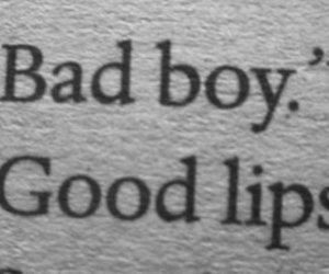 lips, boy, and bad image
