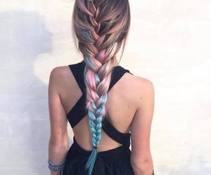 beautiful, hair, and blue image