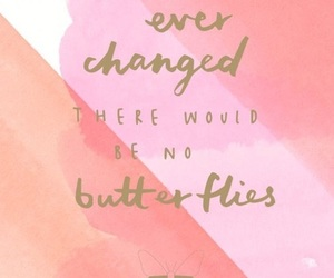 butterflies, qoutes, and heart image