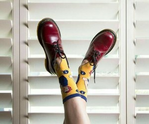 dr martens, fashion, and outfit image