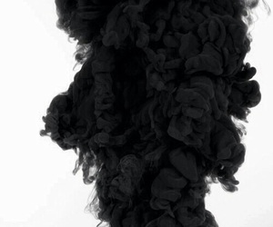 black, smoke, and wallpaper image
