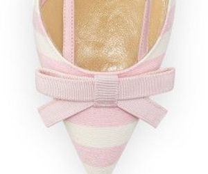 manolo blahnik and pink bow heels image