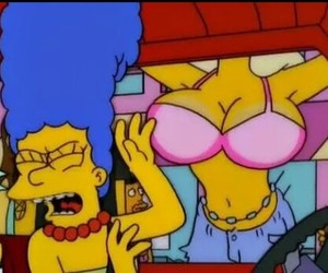 marge, los simpsons, and bubis image