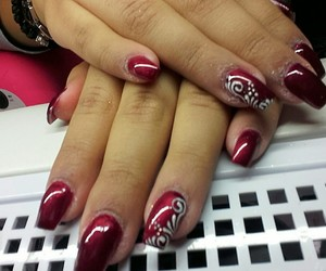 Belgrade, nails, and natasa image