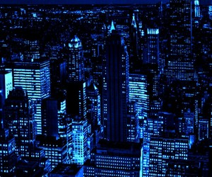 blue, tumblr, and city image