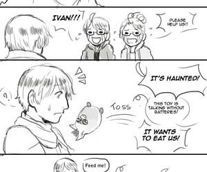 anime, funny, and hetalia image