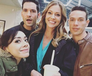 aimee, cast, and lucifer image