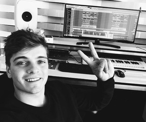 black and white, music, and selfie image