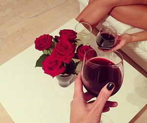 cheers, flowers, and girls image