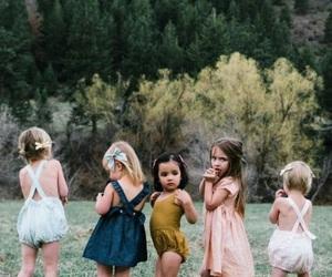kids, girl, and baby image